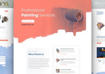 Malířské a natěračské služby