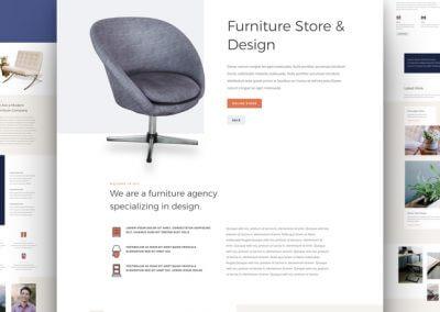 Obchod s nábytkem