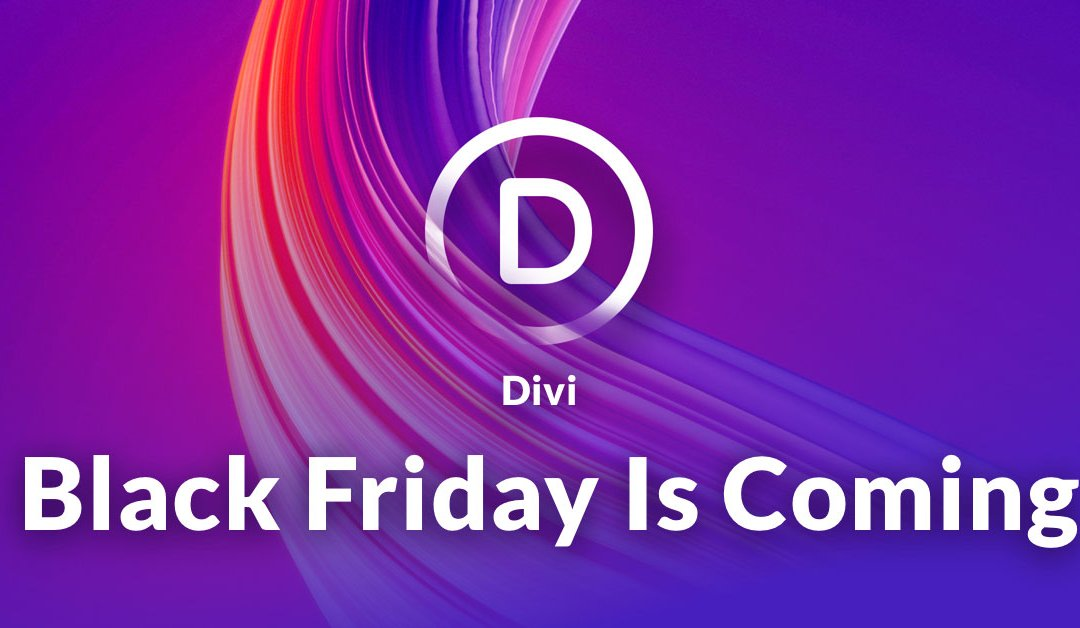 25% sleva na členství Elegant Themes (Divi) – Black Friday 2019