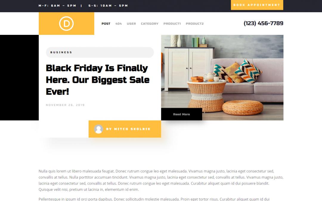 4 exkluzivní designy z Black Friday 2019