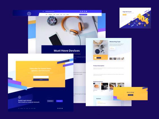 Startup Theme Builder Pack