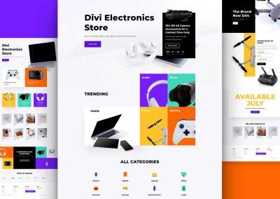 Obchod s elektronikou